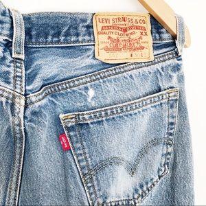 Vintage 505 Stonewash Blue Relaxed Fit Levi's Sz36